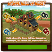 FarmVille Horse Hall Coming Soon (Craft Mystery Horses)