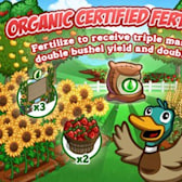 FarmVille Organic Certified Fertilizer coming soon