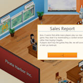Game Dev Tycoon teaches a lesson about pirating games
