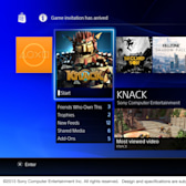 PS4 interface shown off in new Sony video