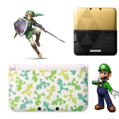 New Legend Of Zelda & Luigi Themed 3DS XLs
