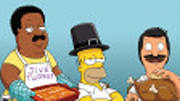  Some of the toughest TV dads are getting animated about Thanksgiving this year, including Fox's Sunday night animation mainstays (Sun., Nov. 18).  We've got exclusive in...