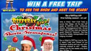 The Mystery Science Theater 3000 alums at Rifftrax are taking Christmas down a notch in a nationwide event next month, and you can win a trip to sunny San Diego to watch ...