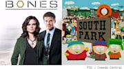Two long-running series hit milestones this month when 'Bones' achieves it's centennial and 'South Park' doubles up that achievement with episode 200. Fans of NBC's 'M...