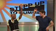 Renowned choreographer Stepp Stewart appeared on 'The Dr. Oz Show' (weekdays, syndicated). While on the show, Stewart shared some advice about how to lose those extra pou...