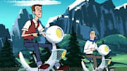For those who didn't hear, The Venture Bros. started either its fifth season or the second
