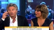 While promoting new books and their reality TV show 'Harry Loves Lisa' on the fourth hour of 'Today' (weekdays, 7AM ET on NBC), Harry Hamlin and Lisa Rinna learn that Bel...