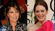 Julianne Moore will be playing Sarah Palin in 'Game Change,' an upcoming HBO movie about the 2008 election.    Palin stopped by 'Hannity' (weekdays, 9PM ET on Fox News) ...