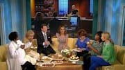  The panel on 'The View' (weekdays, syndicated on ABC) tried to do a little talking with their mouths full today when Bobby Flay and Giada De Laurentiis dropped by with p...