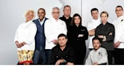 Food Network is switching up its formula for 'The Next Iron Chef' and pitting its established stars against each other for the title.        Anne Burrell, Michael Chiarel...