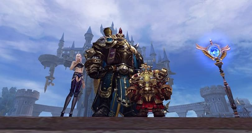 Forsaken World offers a look at the Stoneman Protector