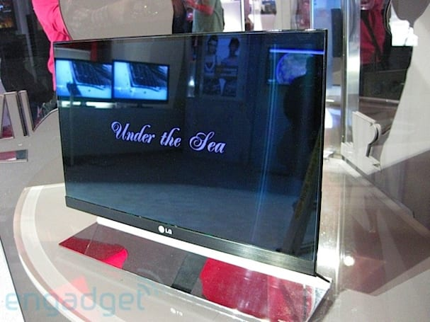 LG parading 31-inch OLED TV among other sets at IFA 2010