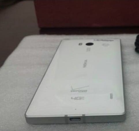 Nokia's Verizon-bound Lumia 929 shows up again in leaked photo