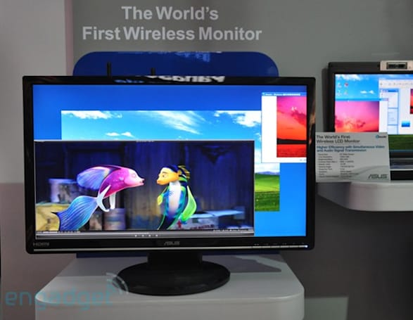 "ASUS shows off Wireless LCD prototype, ""Green"" monitors"