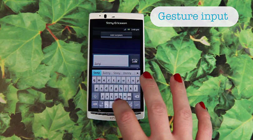 Sony Ericsson brings Gesture input to Xperia line, gives new meaning to 'Swiper, no swiping!'
