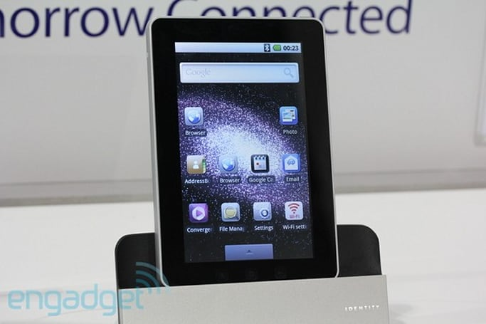 Enspert Identity Tab E201 rings up at $350 with Froyo, Gmail and Android Market
