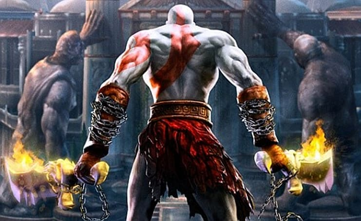 God of War II goes Greatest Hits