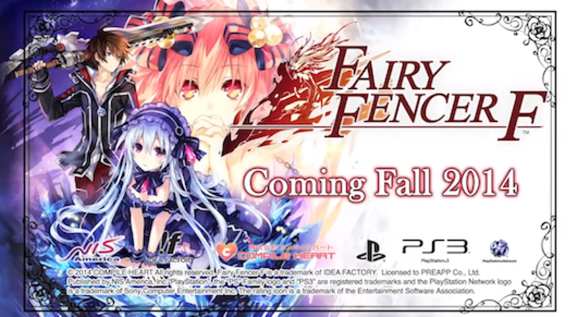 Danganronpa 2, Fairy Fencer F, Disgaea 4 dated for Vita in North America