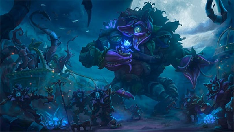 Heroes of the Storm's Garden of Terror swaps between night and day