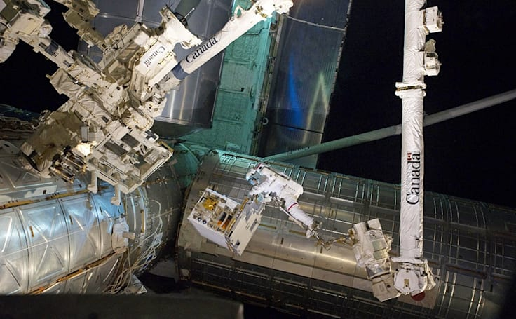 Here's what the astronauts aboard the ISS have been up to