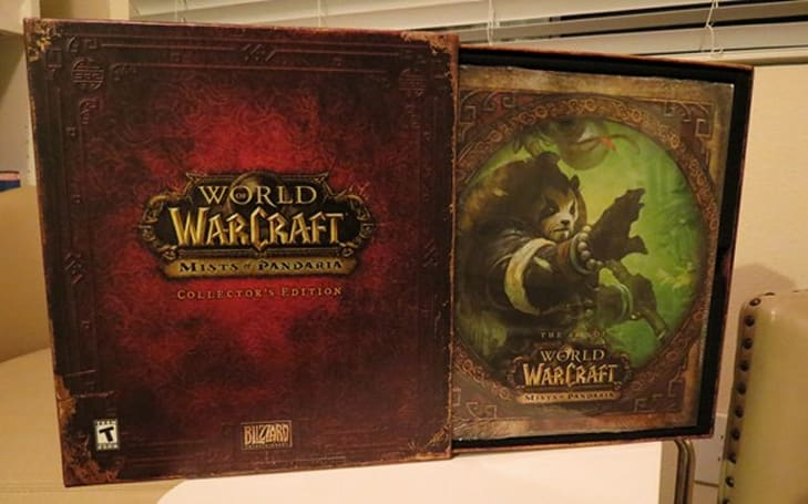 Mists of Pandaria Collector's Edition half price at Amazon