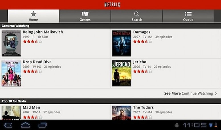 Netflix Android app adds support for Honeycomb tablets, extends reach to Canada and Latin America