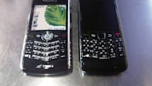 BlackBerry 8130 vs. BlackBerry 9100... fight!