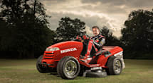 Honda's Mean Mower runs up to 130MPH, makes yardwork exciting (video)