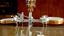 Robot orchestra marries music and machines (video)