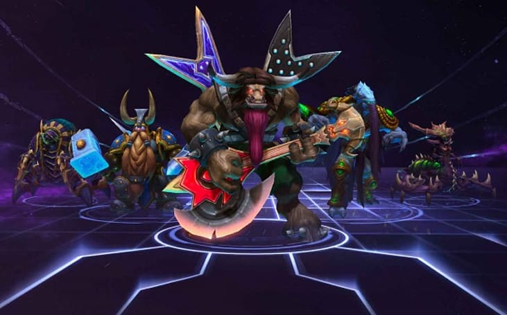 Heroes of the Storm is late to the MOBA party, but Blizzard isn't worried