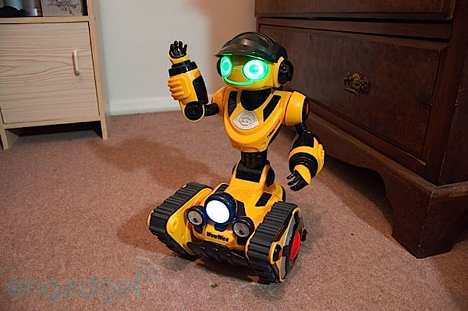 WowWee Roborover gets friendly with the furniture in our review
