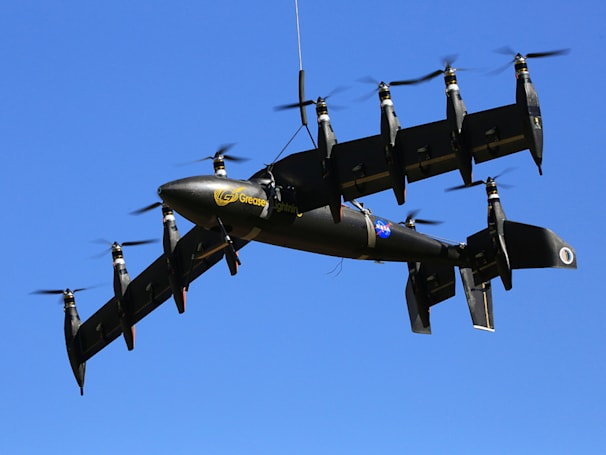 The Big Picture: NASA's electric plane achieves vertical takeoff