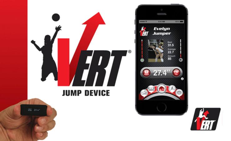 When you jump, VERT tells you how high