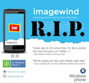 Microsoft removes Imagewind from Marketplace, WP7 gets first bitter taste of rejection