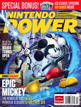 Disney Epic Mickey: Power of Illusion confirmed for 3DS by Nintendo Power
