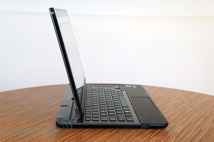Toshiba Satellite U925t review: with its first Windows 8 convertible, Toshiba bets big on the slider