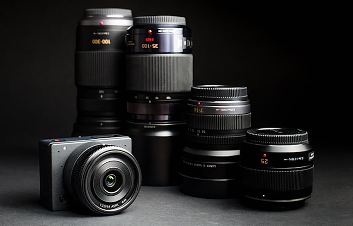 Tiny drone-friendly 4K camera lets you swap lenses