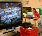 Emotion-tracking rings to assist in distance learning