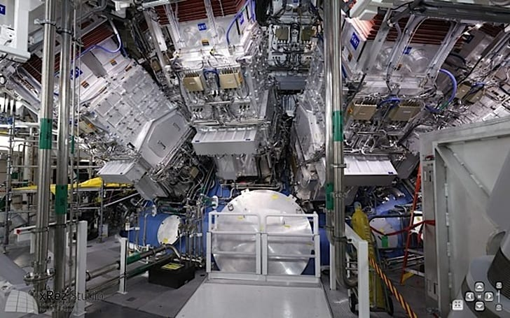 Visualized: the National Ignition Facility in a pannable, spherical panorama