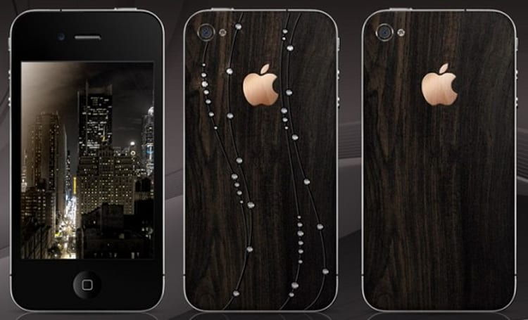 Gresso gussies up iPhone 4 with rare wooden veneer