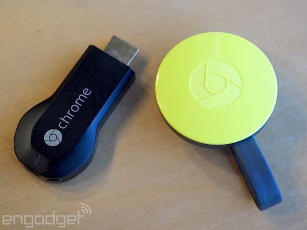 The original Chromecast now works with Spotify