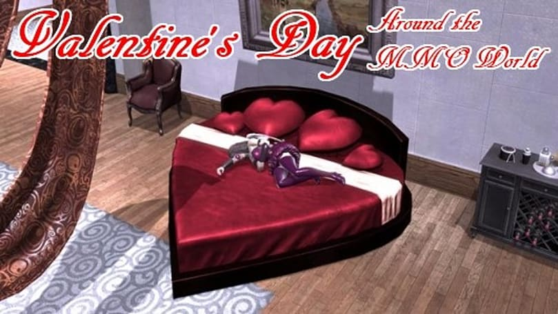Valentine's Day around the virtual world
