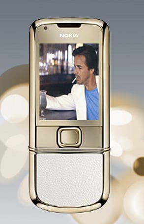 """Nokia Gold Arte 8800 says """"gold is not enough"""""""