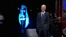 Watch this: J-pop hologram singer performs on David Letterman