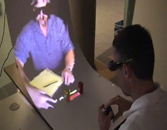 Microsoft Research's MirageTable brings some augmented reality to your tabletop