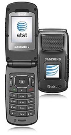 """Samsung a837 """"Rugby"""" bows on AT&T, looking for a fight"""