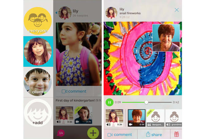 Weekend App: Keepy is a private Facebook-style platform for your children's memorable moments