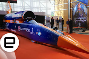 Meet The 1,000MPH Bloodhound SSC
