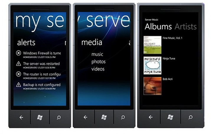 Windows Phone beta app plays nice with WHS 2011, streams media from your network