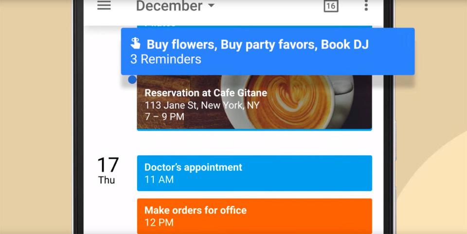 Google Home Reminders Update